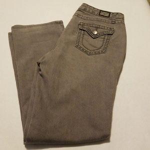 Earl straight leg Jean's in grey